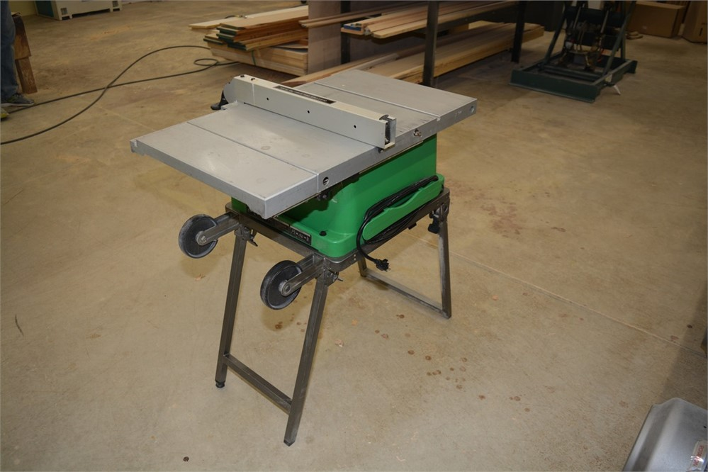 Machinerymax Com Hitachi 10 Portable Table Saw